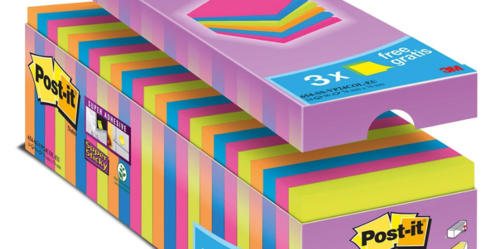 Post-it Super Sticky 76 x 76mm Cabinet Pack